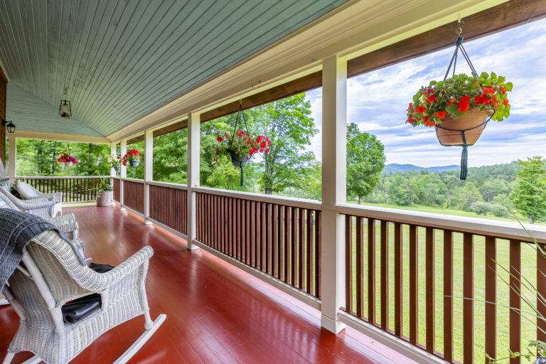 Porch with sky swap