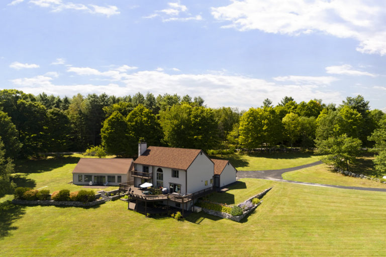 Aerial Drone Photograph of Home