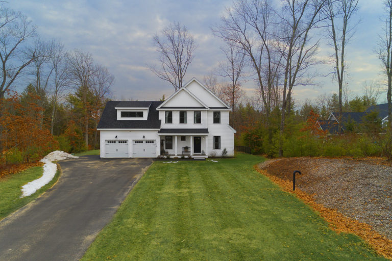 Aerial Exterior Photo of home